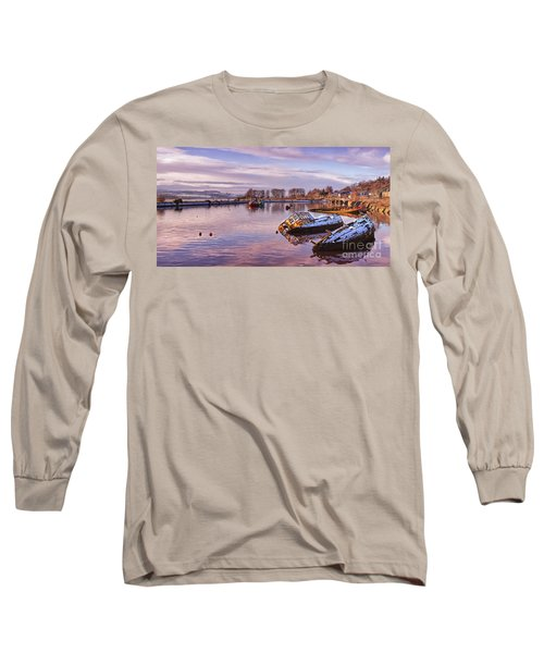 Bowling Harbour Panorama 02 Long Sleeve T-Shirt
