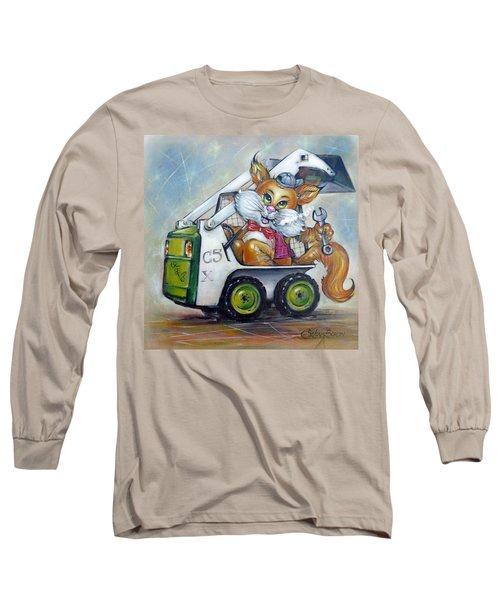 Cat C5x 190312 Long Sleeve T-Shirt