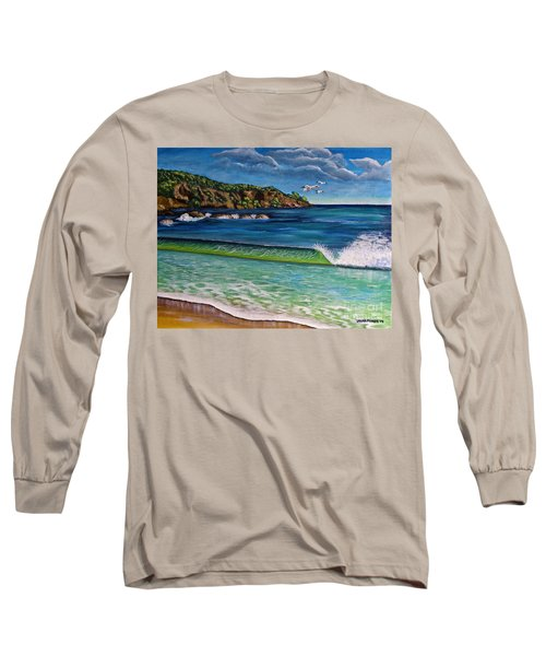 Crashing Wave Long Sleeve T-Shirt