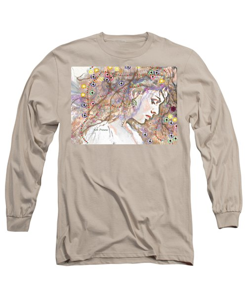 Daisy Chain Long Sleeve T-Shirt by Kim Prowse