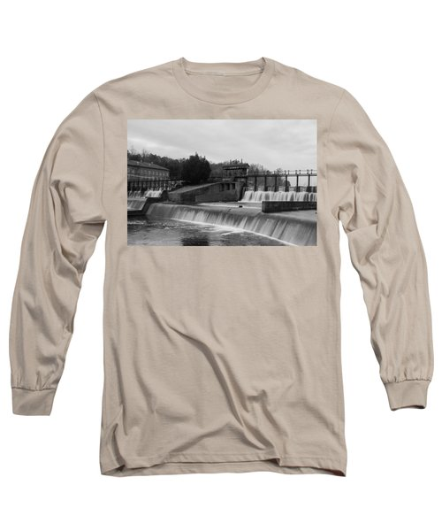 Daniel Pratt Cotton Mill Dam Prattville Alabama Long Sleeve T-Shirt