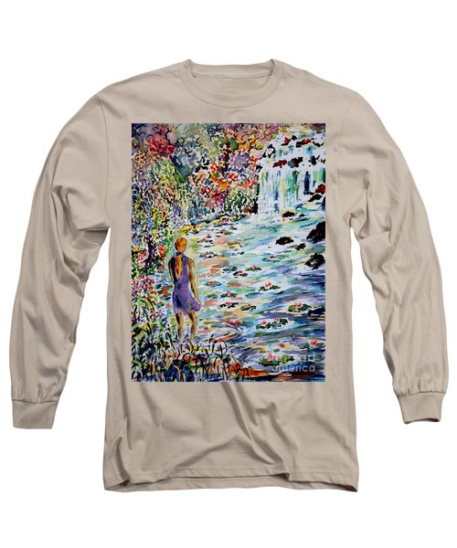 Daughter Of The River Long Sleeve T-Shirt by Alfred Motzer