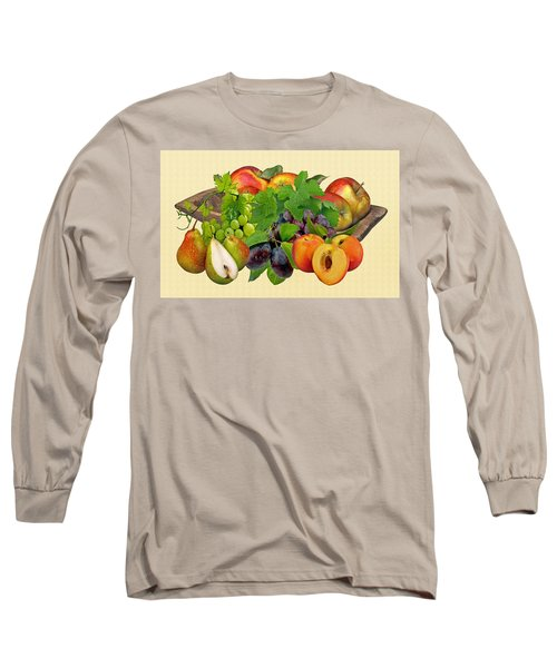 Day Fruits Long Sleeve T-Shirt