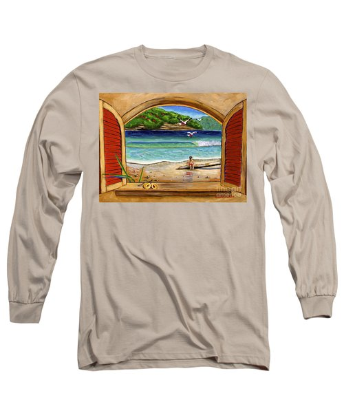 Deep In Thought Long Sleeve T-Shirt