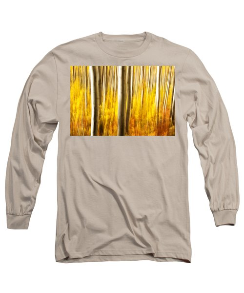 Long Sleeve T-Shirt featuring the photograph Fall Abstract by Ronda Kimbrow