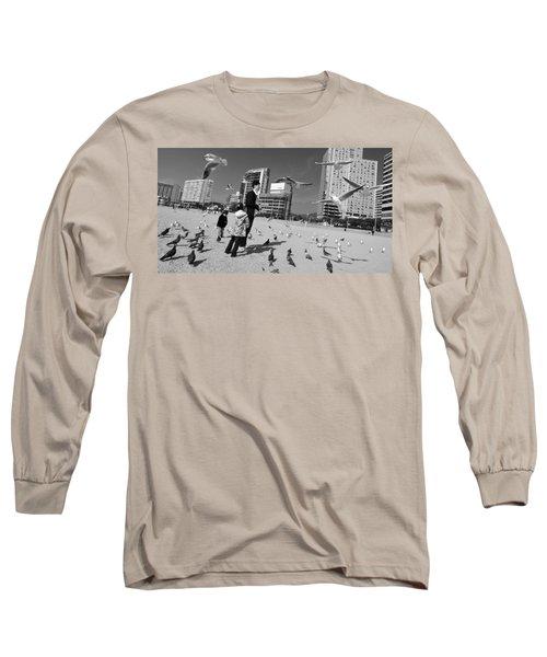 Feed The Birds Long Sleeve T-Shirt