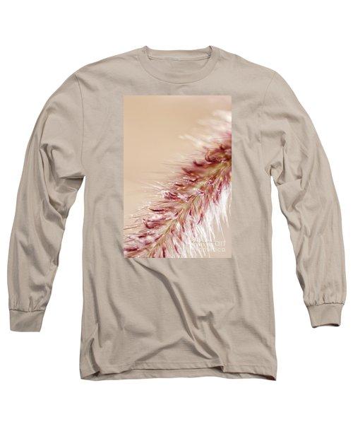 Fountain Grass Blooms   Long Sleeve T-Shirt