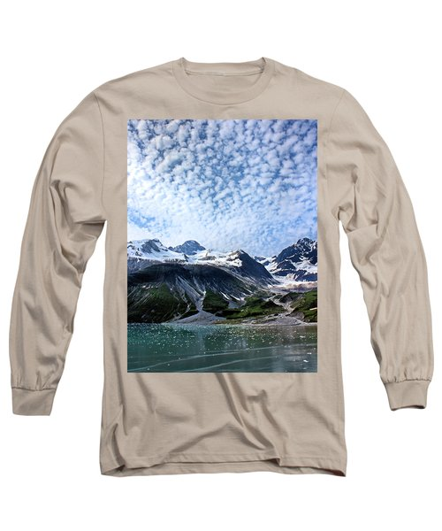 Long Sleeve T-Shirt featuring the photograph Glacier Bay Beautiful by Kristin Elmquist