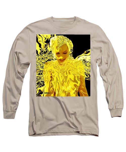 Golden Goddess Long Sleeve T-Shirt