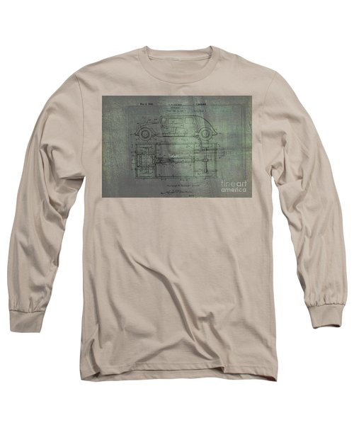 Harleigh Holmes Original Automobile Patent  Long Sleeve T-Shirt