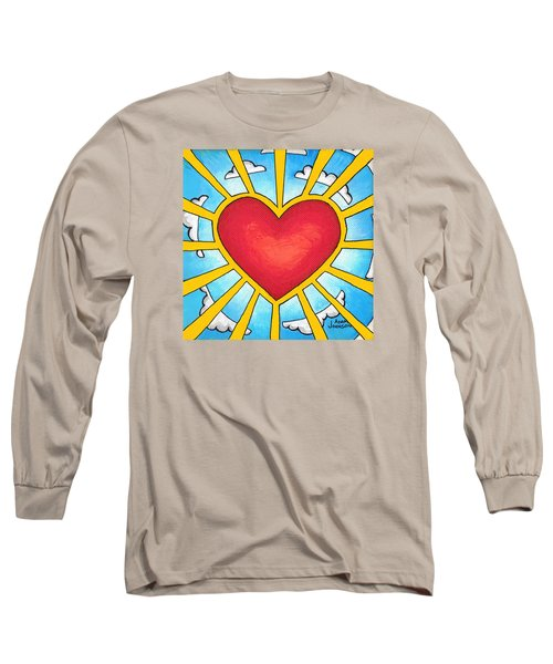 Heart Shine Long Sleeve T-Shirt