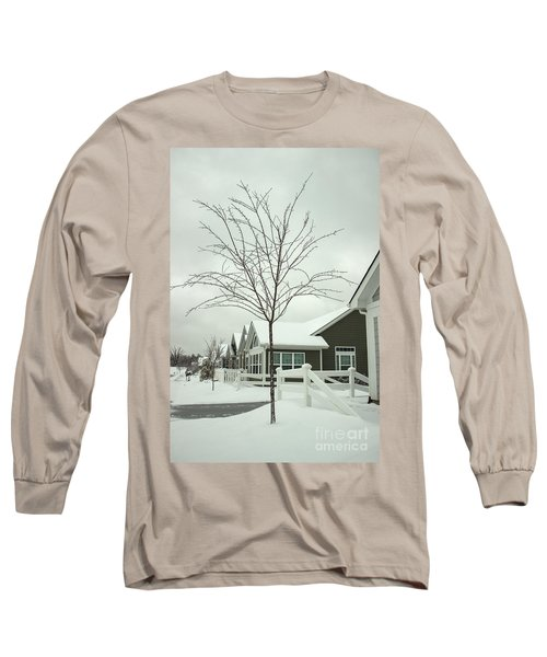Hello Snow Long Sleeve T-Shirt