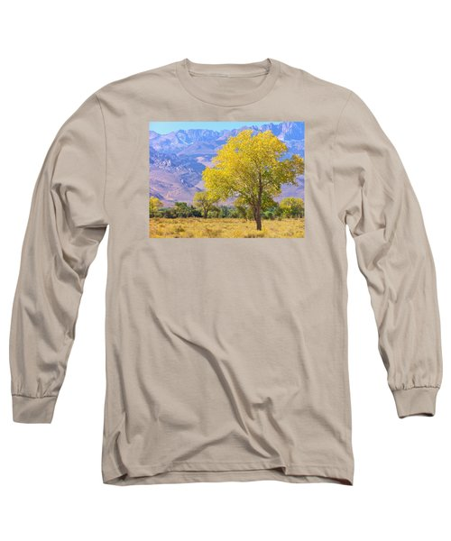 In All Its Glory Long Sleeve T-Shirt by Marilyn Diaz