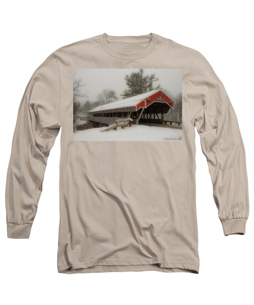 Jackson Nh Covered Bridge Long Sleeve T-Shirt