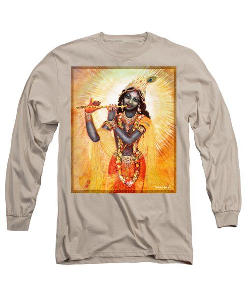 Krishna With The Flute Long Sleeve T-Shirt