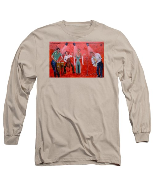 Live Jazz Long Sleeve T-Shirt