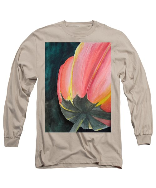 Looking Up Long Sleeve T-Shirt by Betty-Anne McDonald