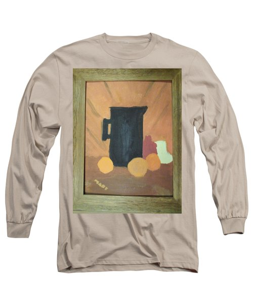 Long Sleeve T-Shirt featuring the painting #1 by Mary Ellen Anderson
