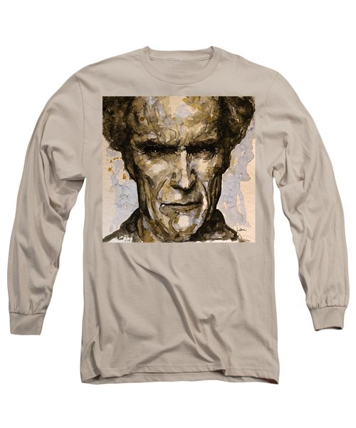Long Sleeve T-Shirt featuring the painting Million Dollar Baby by Laur Iduc