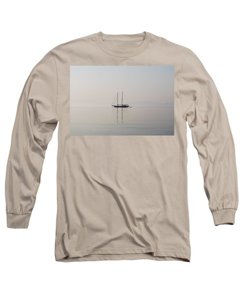 Long Sleeve T-Shirt featuring the photograph Morning Mist by George Katechis