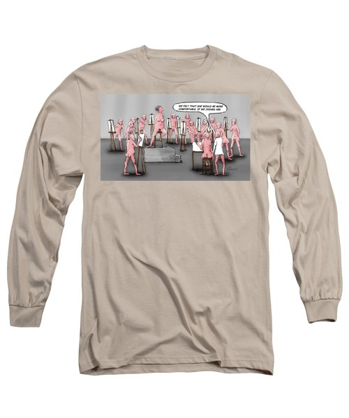 Naked Artists Long Sleeve T-Shirt