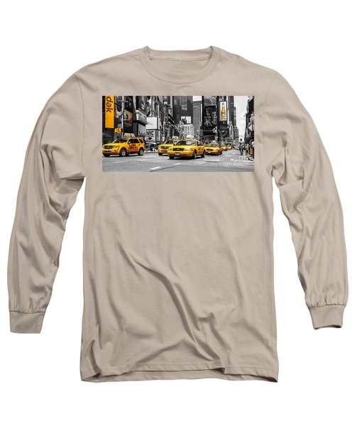 Nyc Yellow Cabs - Ck Long Sleeve T-Shirt