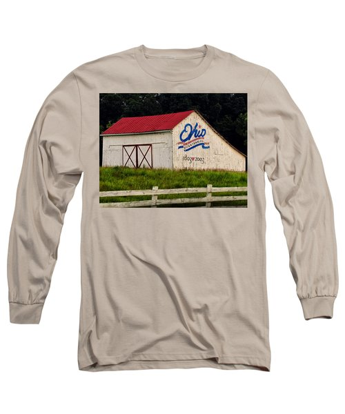 Ohio Bicentennial Barn Long Sleeve T-Shirt