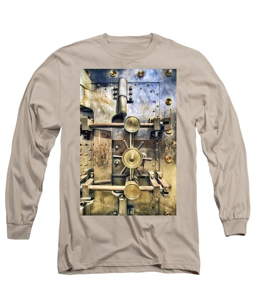 Old Bank Vault In Historic Building Long Sleeve T-Shirt