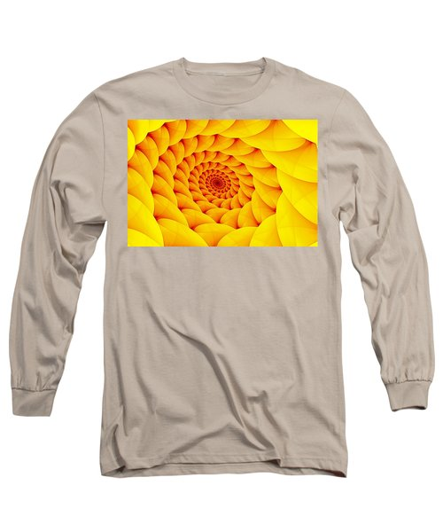 Yellow Pillow Vortex Long Sleeve T-Shirt