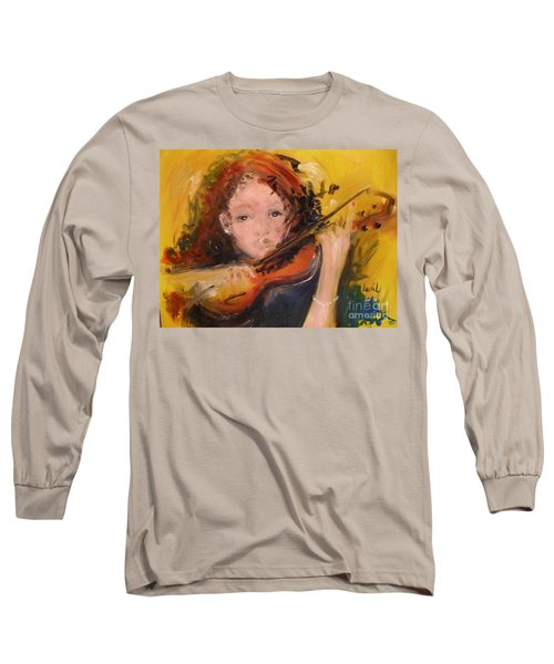 Pearl Long Sleeve T-Shirt by Laurie L