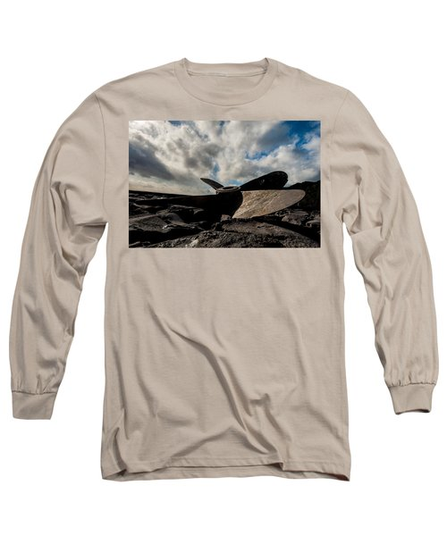 Propeller On The Beach Long Sleeve T-Shirt