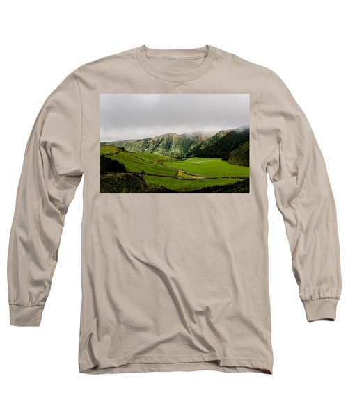 Road Over Valley Long Sleeve T-Shirt