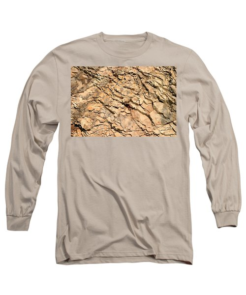 Long Sleeve T-Shirt featuring the photograph Rock Wall by Henrik Lehnerer