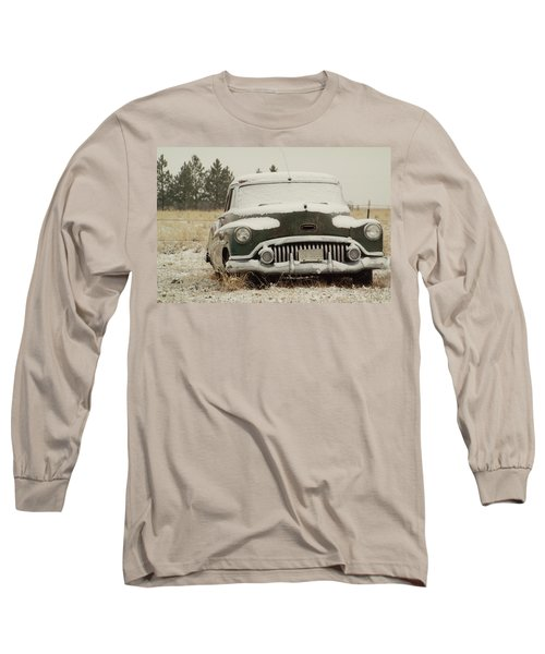 Rusting In The Snow Long Sleeve T-Shirt