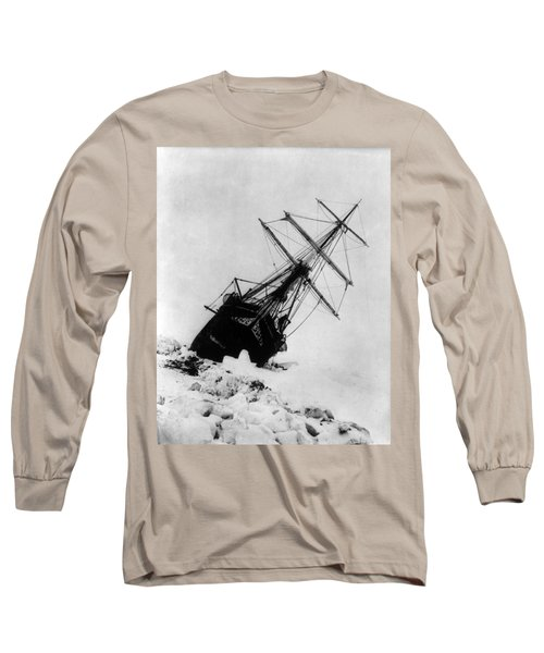Shackletons Endurance Trapped In Pack Long Sleeve T-Shirt