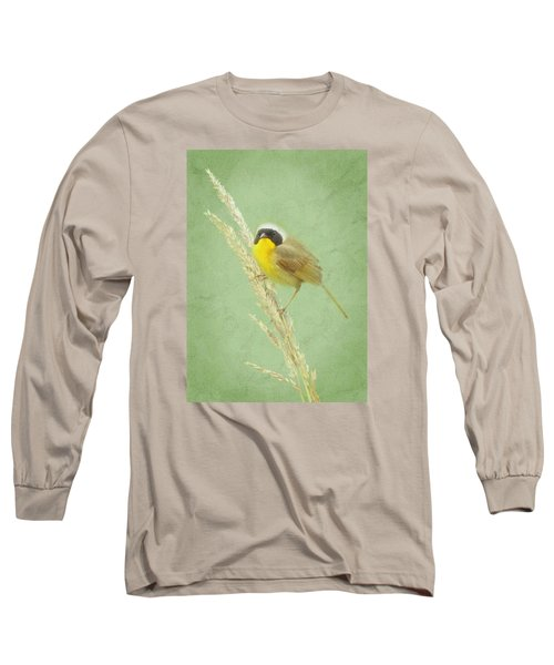Long Sleeve T-Shirt featuring the digital art Spring In The Marsh by I'ina Van Lawick