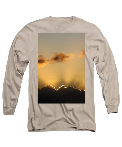 Sun Rays And Dark Clouds Long Sleeve T-Shirt