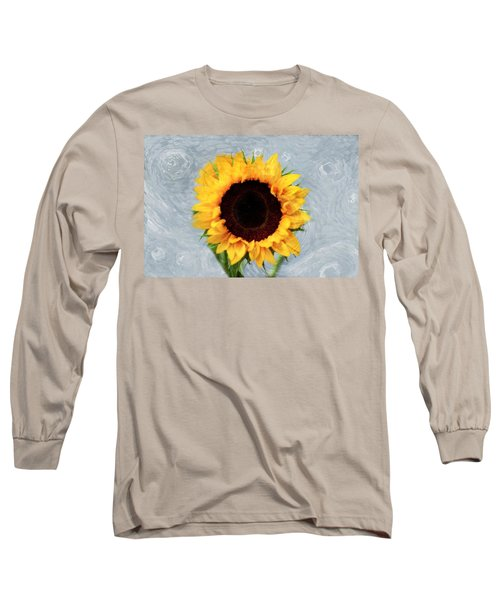 Sunflower Long Sleeve T-Shirt by Bill Howard