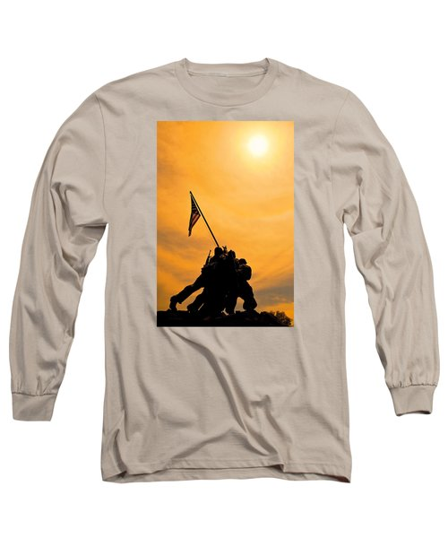 Team Effort Long Sleeve T-Shirt by Lawrence Boothby