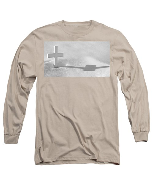 Long Sleeve T-Shirt featuring the photograph The Grave Of Bobby Kennedy by Cora Wandel