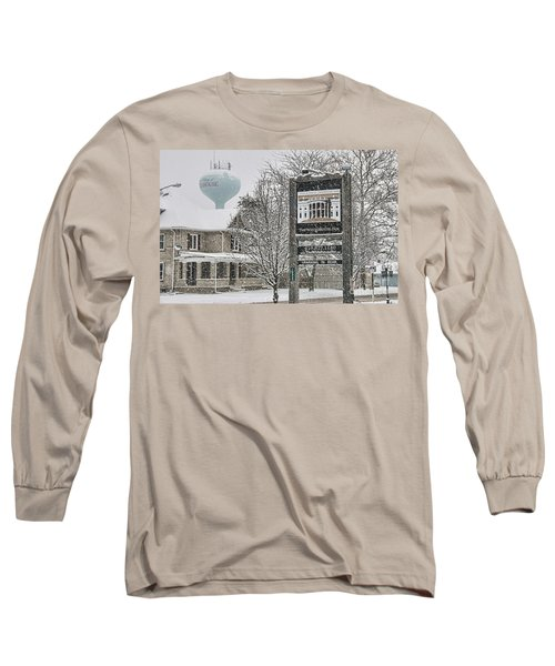 The Whitehouse Inn Sign 7034 Long Sleeve T-Shirt by Jack Schultz