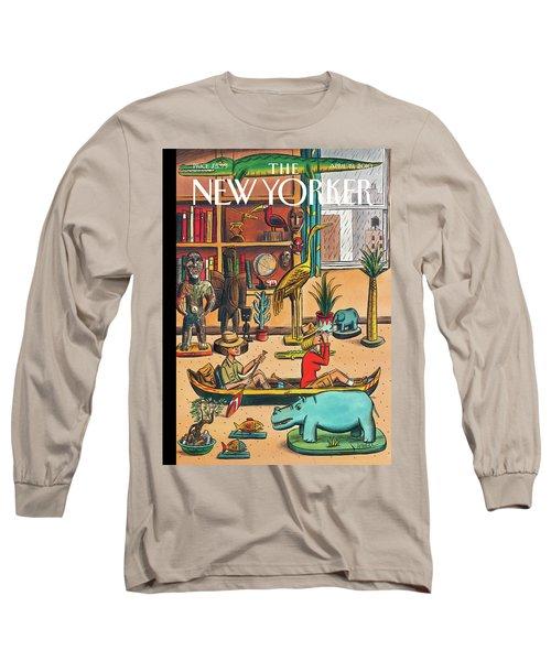 New Yorker April 19th, 2010 Long Sleeve T-Shirt