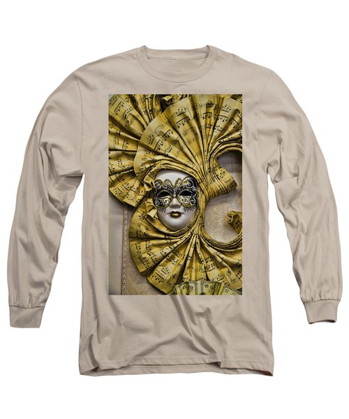Venetian Carnaval Mask Long Sleeve T-Shirt