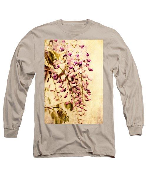 Vintage Wisteria Long Sleeve T-Shirt