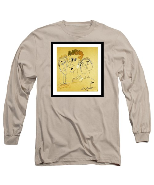 We Are Family Long Sleeve T-Shirt by Iris Gelbart