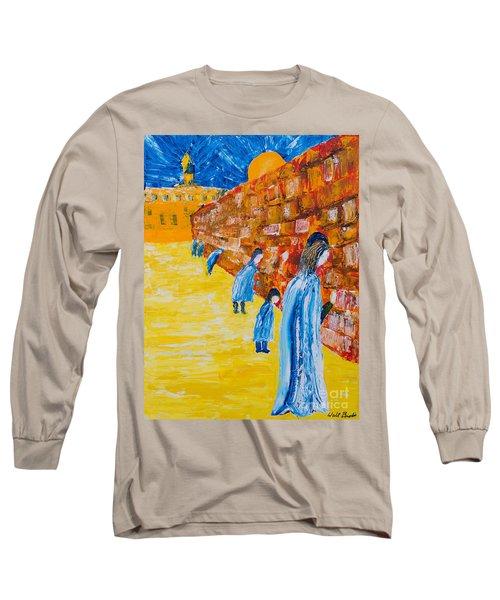 Western Wall Long Sleeve T-Shirt