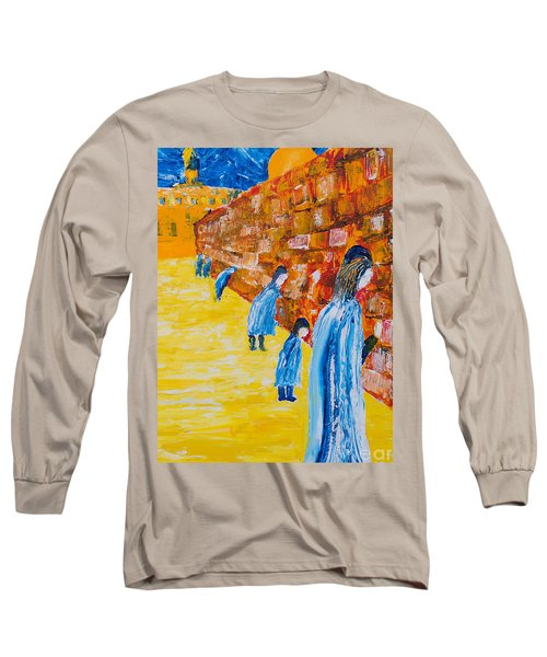 Western Wall Long Sleeve T-Shirt