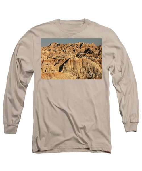 White River Valley Overlook Badlands National Park Long Sleeve T-Shirt