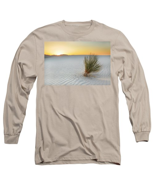 Yucca Plant At White Sands Long Sleeve T-Shirt