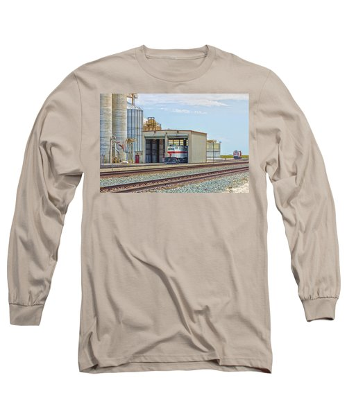 Foster Farms Locomotives Long Sleeve T-Shirt by Jim Thompson